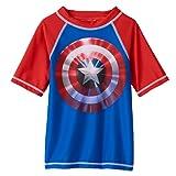 Boys Marvel Captain America Shield Rashguard (4)