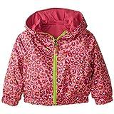 Pink Platinum Little Girls' Reversible Leopard Jacket