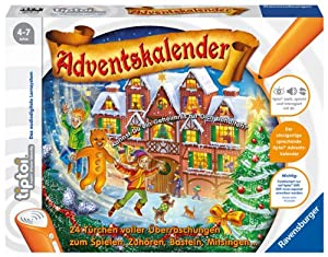 Ravensburger 00562 - Tiptoi Adventskalender, ohne Stift