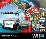 Nintendo Wii U Mario Kart 8 + Nintendo Land Deluxe 32 GB Console Bundle