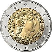 Lettland - Euro-Münzsatz lose (1 Cent - ...