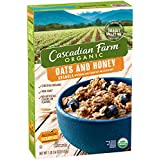 Cascadian Farm Organic Cereal, Oats & Honey Granola, 16 Oz