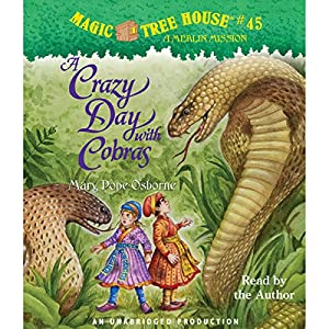 A Crazy Day with Cobras Audiobook