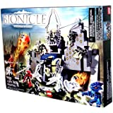 Lego Year 2005 Bionice Series Set #8769 - Visorak's Gate With Walls That Lift To Deploy Fireballs Mini Visorak...