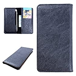 DooDa PU Leather Case Cover For Coolpad Dazen 1 (Black)