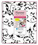 """Blue Sky 2016-2017 Academic Year Weekly & Monthly Planner, Wire-O Binding, 8.5"""" x 11"""", Analeis (18718)"""