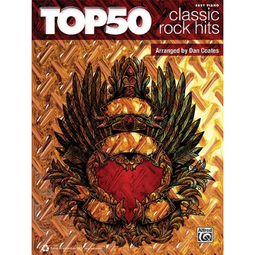 Top 50 Classic Rock Hits Easy Piano