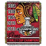 NHL Chicago Blackhawks Tapestry Throw Blanket, 48-Inch/60-Inch at Amazon.com