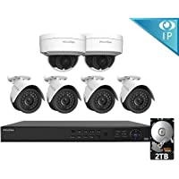 LaView 8-Channel Full HD IP Indoor/Outdoor Surveillance