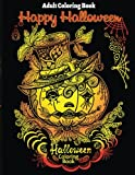 Adult Coloring Book: Halloween Coloring Book for Stress Relieve and Relaxation