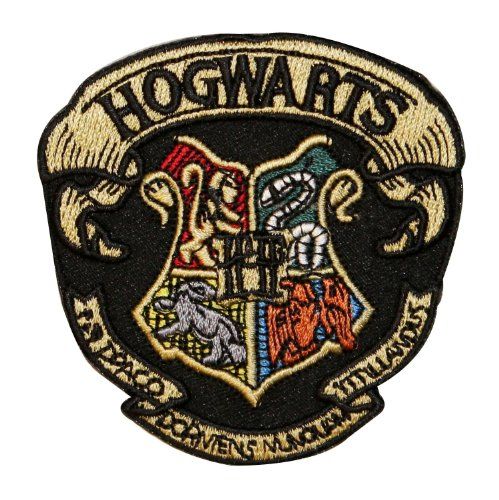 Hogwarts School Robe Emblem & Coat of Arms Harry Potter Iron On Applique Patch (Harry Potter Iron On compare prices)