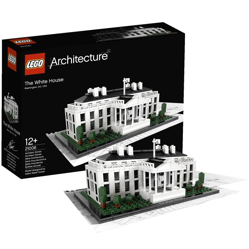 Lego architecture 21006 the white house ebay for Architecture lego