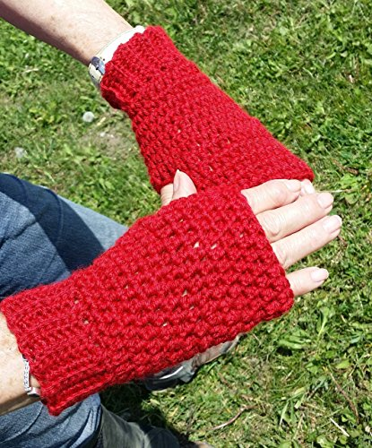 Knitting With Arthritic Hands : Wisconsin mittens badgers