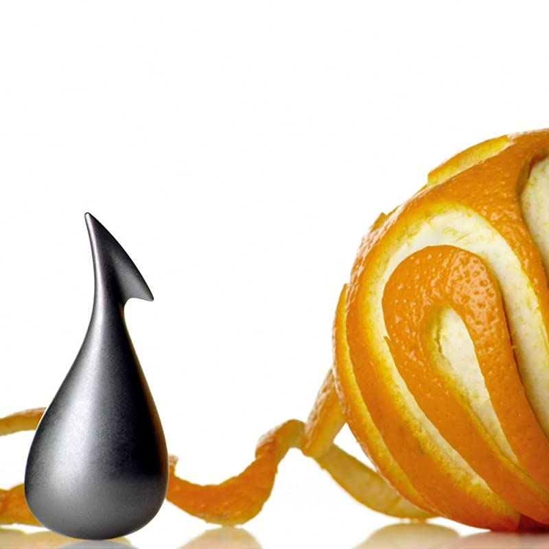 Alessi Apostrophe Orange Peeler via Amazon
