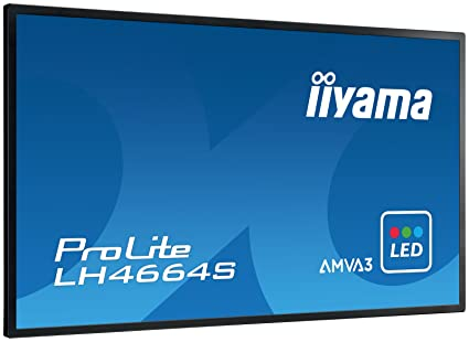 iiyama LH4664S-B1 Ecran PC LED 46'' (116,8 cm) 6,5 ms 1920 x 1080 pixels HDMI