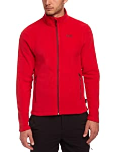 Helly Hansen Men's Mount Prostretch Fleece Jacket - Red, Small