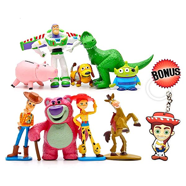 Toy Story Cake Toppers Party Bag Filler Woody Buzz Jessie Birthday Gift Present