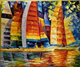 ***HOLIDAY SALE*** LONG SAILS is a One-of-a-Kind, ORIGINAL OIL PAINTING ON CANVAS by Leonid AFREMOV