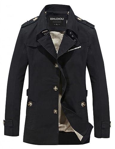 Men Fashion Jacket Lightweight WantDo Men s Casual Jacket