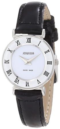 bracelet cuir noir pour montre femme
