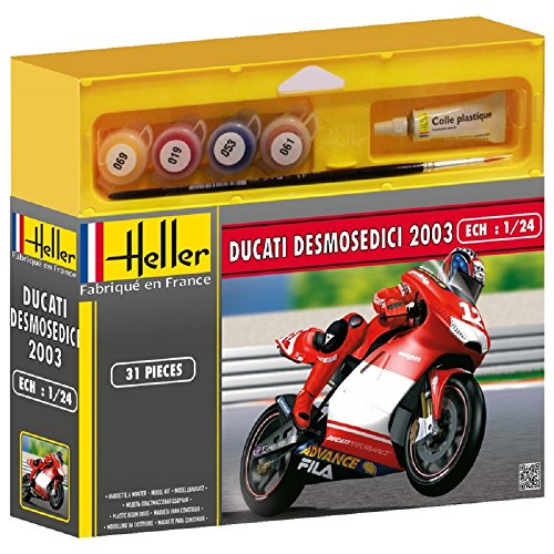 Heller - 50926 - Maquette - Ducati Desmosedici Troy Bayliss - Echelle 1:24