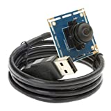 ELP 170degree Fisheye Wide Angle VGA USB Camera Module with 640x480 Resolution for Pc Webcam Android/Linux/mac/Windows Etc.