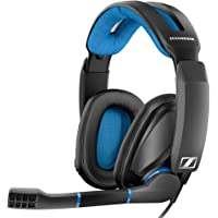 Sennheiser GSP 300 Over-Ear Gaming Headphones (Black/Blue)