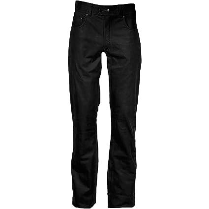 Modeka cachet pantalon en jean noir