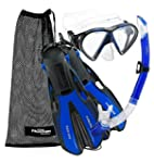 Phantom Aquatics Snorkeling Gear Mask...