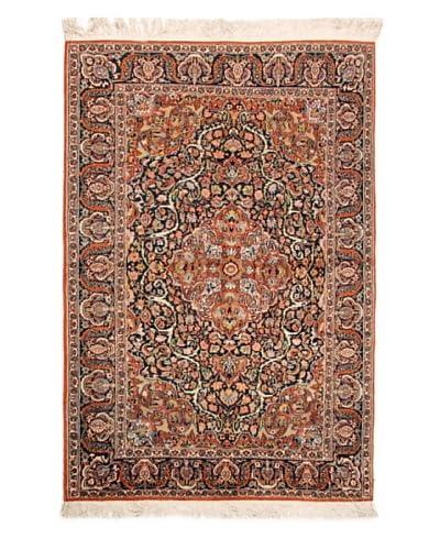 Roubini Fine Srinagar Silk Ground Rug, Multi, 6' 2 x 4' 2 As You See