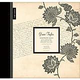 Paisely Floral Large 12 Scrapbook Memory Book Photo Album 12x12