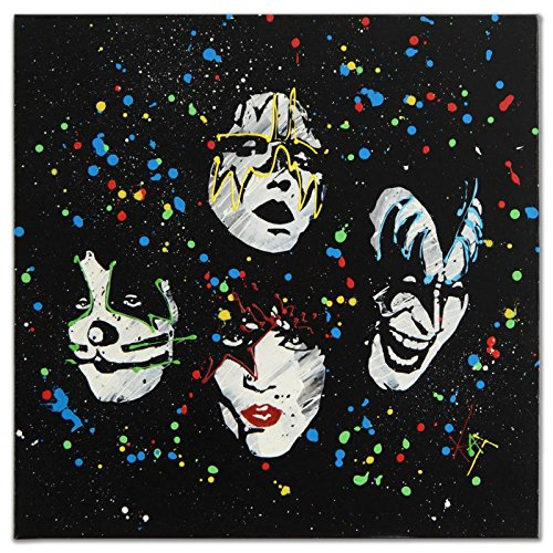 kat-original-kiss-painting-signed-coa-paul-stanley-gene-simmons