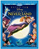 Peter Pan Return to Neverland: Special Edition (Blu-ray + DVD + Digital Copy)