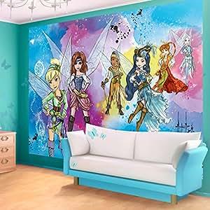 Pirate fairies wallpaper mural for Amazon mural wallpaper