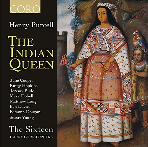 CD : PURCELL / THE SIXTEEN / CHRISTOPHERS - Indian Queen