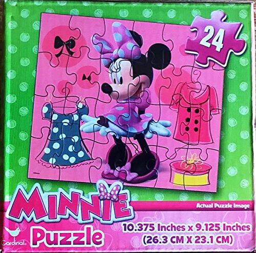 "Disney Junior's ""Minnie Mouse"" 24 Piece Puzzle"