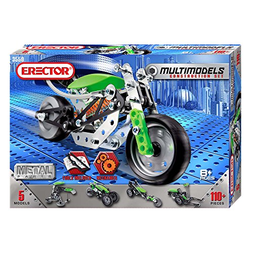 New Meccano Erector Multimodel 5 Model Set