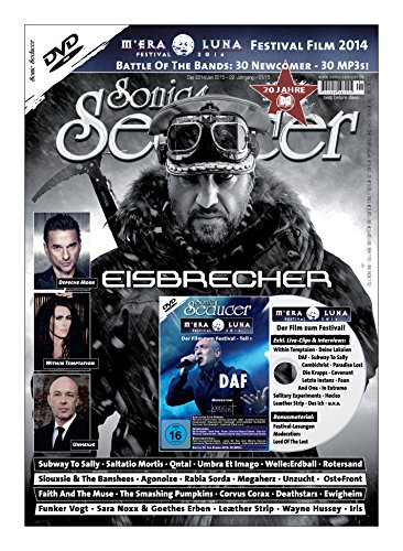 Sonic Seducer 12-2014/01-2015 + DVD: M'Era Luna 2014 - Der Film, Teil 1 mit vielen exkl. Live-Videos u.v.m., Bands: Eisbrecher, Depeche Mode, Within Temptation, Unheilig u.a.