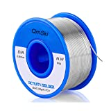 Solder Wire, Lead Free Solder Rosin Core Tin Wire 97Sn-0.7Cu-0.3Ag, 0.8mm,50g for Electrical Soldering and DIY (0.05)