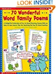 70 Wonderful Word Family Poems: A Del...