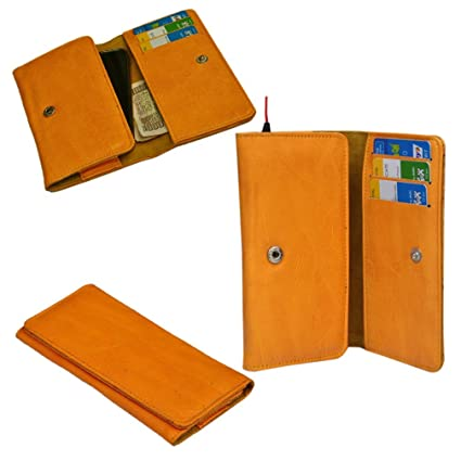 Ding Dong PU Leather Mobile Wallet Flip Pouch Case Cover For Intex Cloud Y4 available at Amazon for Rs.7525