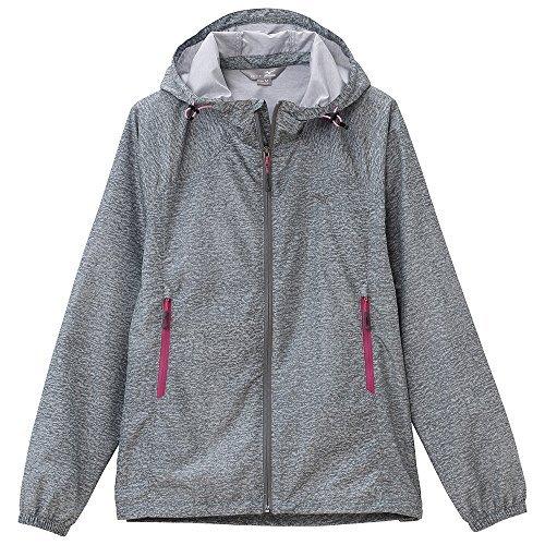 (ミズノ)MIZUNO(ミズノ) メランジプリント トレイルジャケット [メンズ] A2JE5301 06 グレー杢 M
