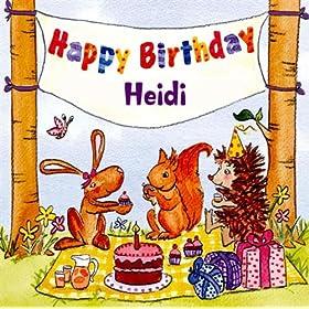 birthday heidi the birthday bunch from the album happy birthday heidi