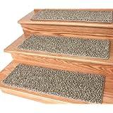 "Dog Assist Carpet Stair Treads - Tiger Eye - (9"" x 27"") Set of 13"