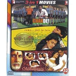 Chak De India! / Dilwale Dulhania Le Jayenge / Mohabbatein