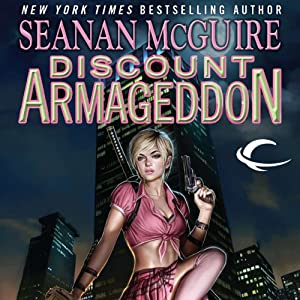 Discount Armageddon: InCryptid, Book 1 (       UNABRIDGED) by Seanan McGuire Narrated by Emily Bauer