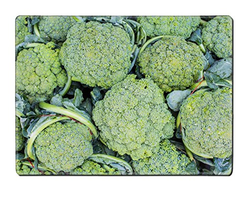 Luxlady Placemat IMAGE ID 31752294 Group of fresh broccoli close up (Brocolli Baby Food compare prices)