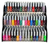 Emori (TM) All About Nail 50 Piece Color Nail Lacquer (Nail Art Brush Style) Combo Set + 3 Sets of Scented Nail Polish Remover - Magical