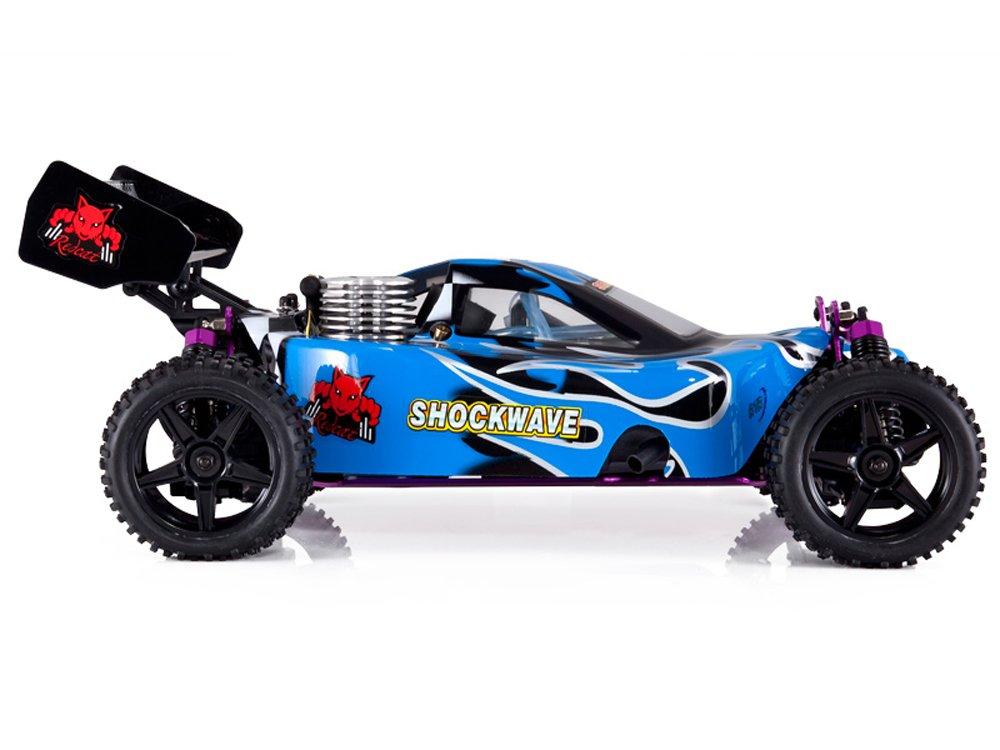 Redcat Racing Shockwave Nitro Buggy, Blue, 1/10 Scale