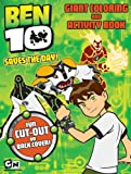 Ben 10 Giant Coloring and Activity Book: Saves the Day
